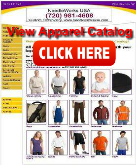 Team Uniforms embroidery catalog